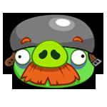 Helmet-Moustache-Pig