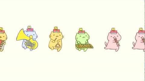 みっちりねこマーチ - MitchiriNeko March - Cute cat characters in a marching band!