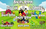 Angry Birds Super Menu