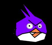 Purple bird sprite
