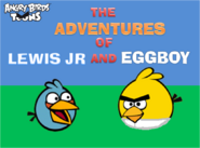 The Adentures Of Lewis Jr And Eggboy Title Card