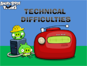 Technical Difficulties Title Card