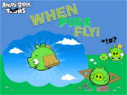 When Pigs Fly! Title Card