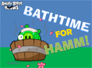 Bathtime For Hamm! Title Card