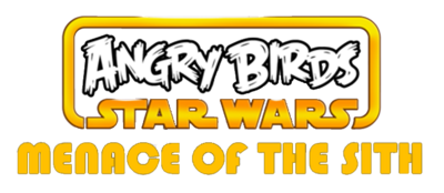 Angry Birds Star Wars Menace Of The Sith Logo
