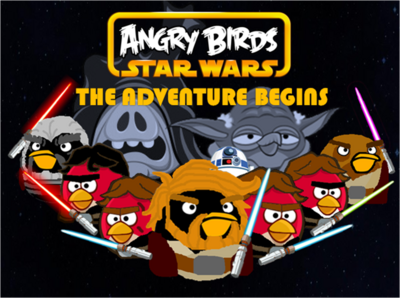 Angry Birds Star Wars The Adventure Begins Poster 2