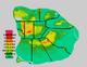 Piggania Elevation Map