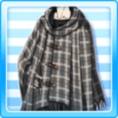 File:Fringe Cotton Knit Poncho Gray.jpg