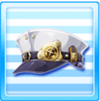 Galactic Railways Staff Hat White