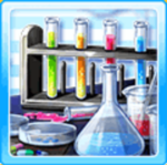 Alchemic desk - Blue
