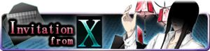 Invitation from X banner