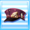 Galactic Railways Staff Hat Purple