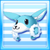 Kangaroo Head-Blue