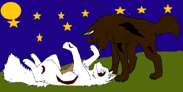 File:Wolf couple base 2 by ra3nuki-d4eet40.png
