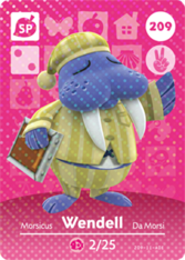 Amiibo 209 Wendell