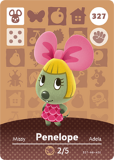 Amiibo 327 Penelope
