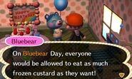 Bluebear ACNL Birthdays