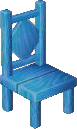 Light blue chair