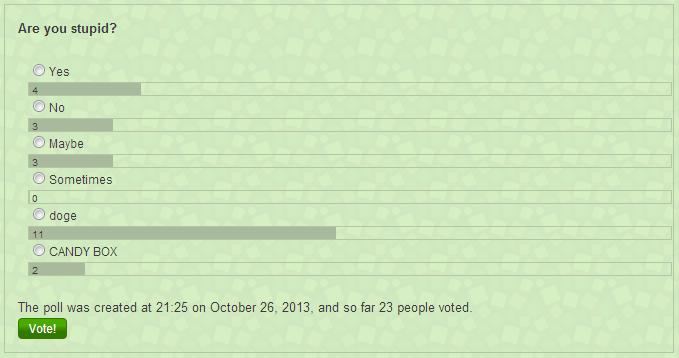 Poll history 1