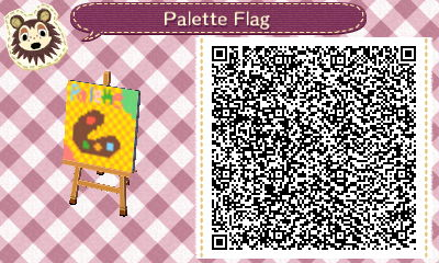 File:My town flag, palette.jpg