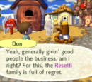 Don Resetti/Dialogues