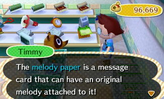 Melody paper