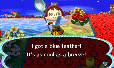 File:Player catches blue feather.JPG