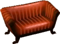 Classic sofa chocolate