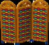 Cabana screen colorful