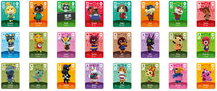Amiibo card collection