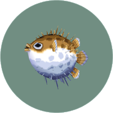 File:Puffer Fish (City Folk).png