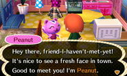 Meeting Peanut From Another Town