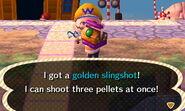 Golden slingshot get