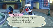 Amelia in the city