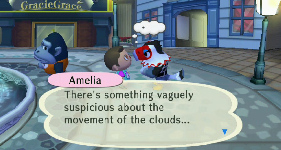 Amelia in the city