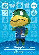 Amiibo 005 Kapp'n