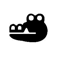 File:AlligatorSpeciesIconSilhouette.png