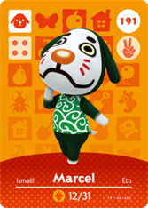 Amiibo 191 Marcel