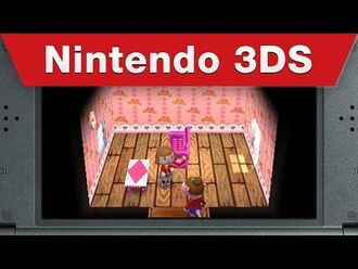Nintendo 3DS - Animal Crossing- Happy Home Designer E3 2015 Trailer