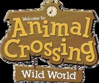 Animal Crossing Wild World Logo
