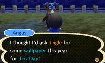 Angus' holiday wish