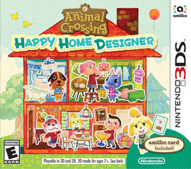 PS 3DS AnimalCrossingHappyHomeDesigner EAP