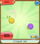 Shop Croquet-Set Ball Yellow-Purple