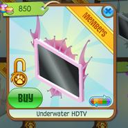 Underwater HDTV pink