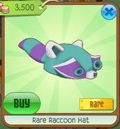 RareRaccoonHat