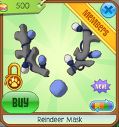 Shop Reindeer-Mask Blue