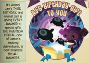 Jamaa-Journal Vol-099 Birthday-Gift
