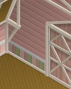 Ol-Barn Pink-Striped-Walls