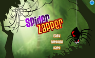Difficulty Selection of Spider Zapper