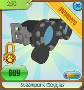 Shop Steampunk-Goggles Blue 2011